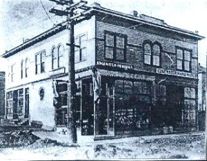 This building which is still extant at the corner of 36th & Woodland Park Ave in Fremont, was built in 1902 by the Goddard family as a business investment.