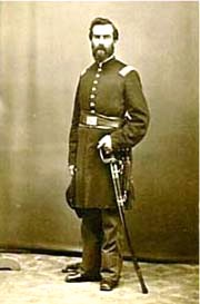 Capt. DeWitt C Kenyon in uniform.courtesy of family