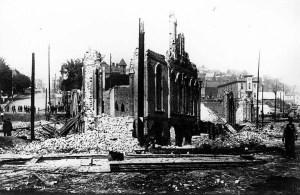 Seattle Fire ruins 1889