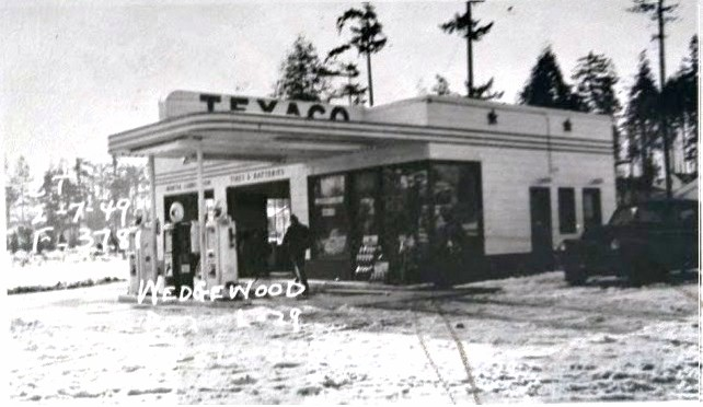 8425 35th Ave NE Texaco gas station in 1949 | Wedgwood in Seattle