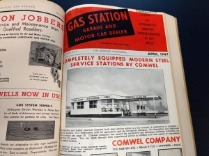 Gas Station Magazine.April 1947