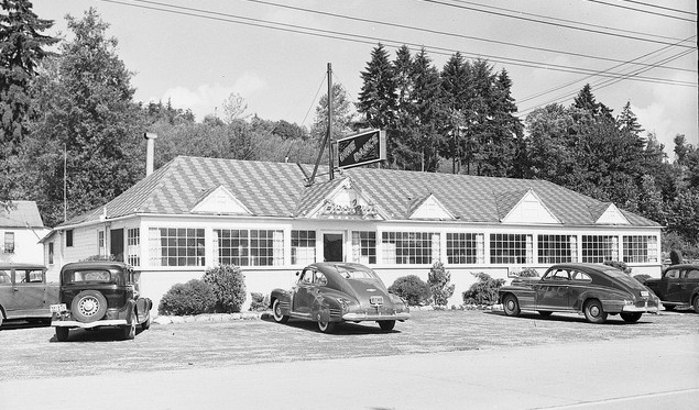Dooley's as of 1940.Seattle Municipal Archives Photo 18873