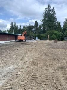 Decatur Annex demolition clear space.July 18 2019
