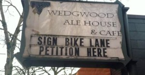 Bike lane petition to Save 35th.2018