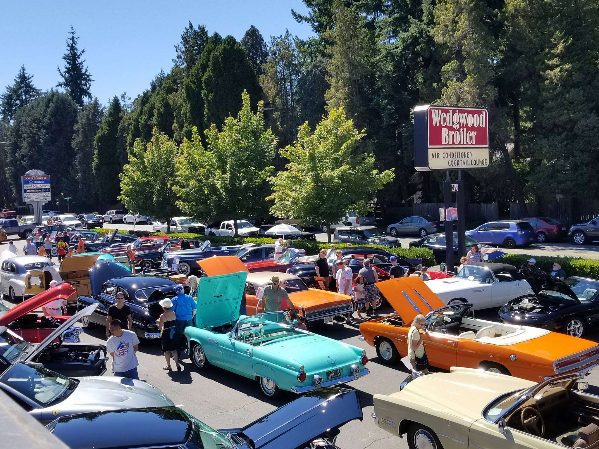 Car Show And Cancer Fundraiser At The Wedgwood Broiler