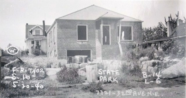 7719 32nd Ave NE.unfinished in 1940